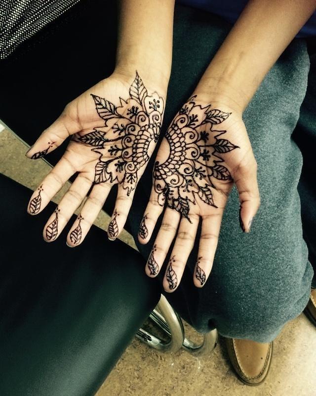 Henna done at Dockerys Brow bar!_#njhenna