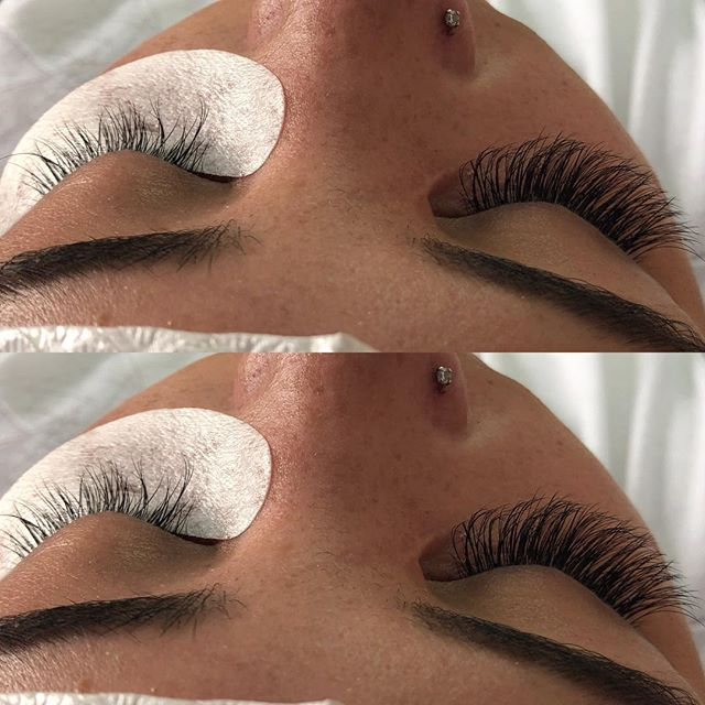 Volume Lashes (3D+) NOW available at Dockerys Brow Bar