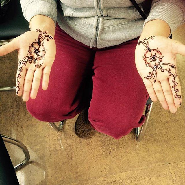 #henna at Dockerys Brow bar!