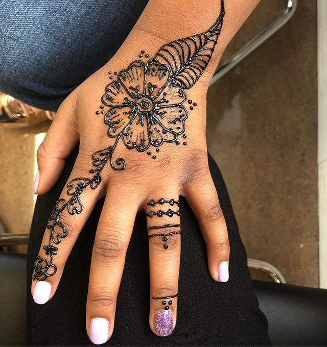 Henna available for all ages!