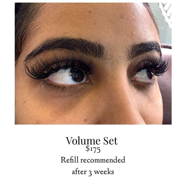 Volume Eyelash Extensions available at D