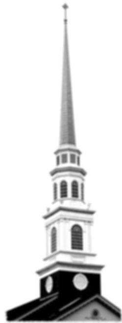 church steeple bw.jpg