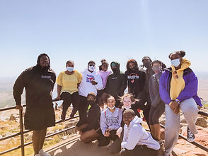 Wesley Students at Mount Scott in Oklahoma