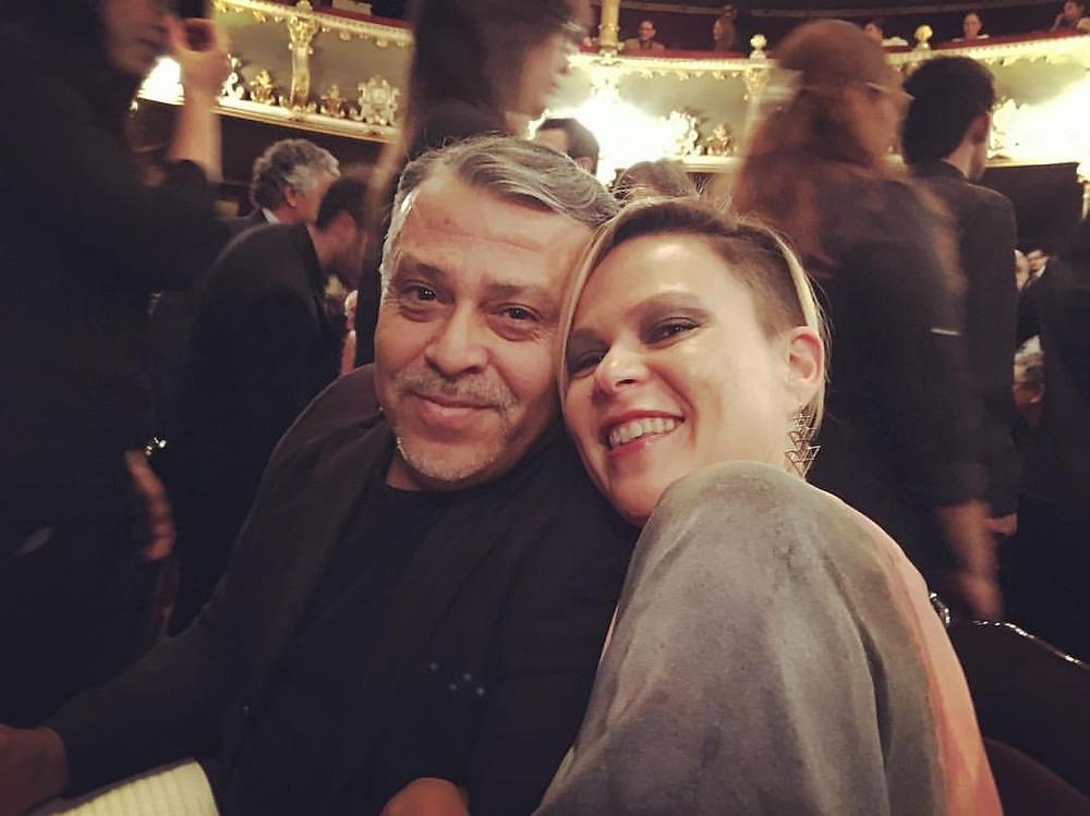 Marvin Camacho y Susan Campos, 2017.