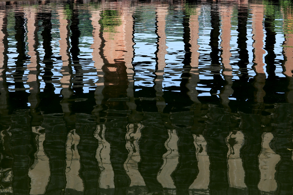 Ore Dock Reflections