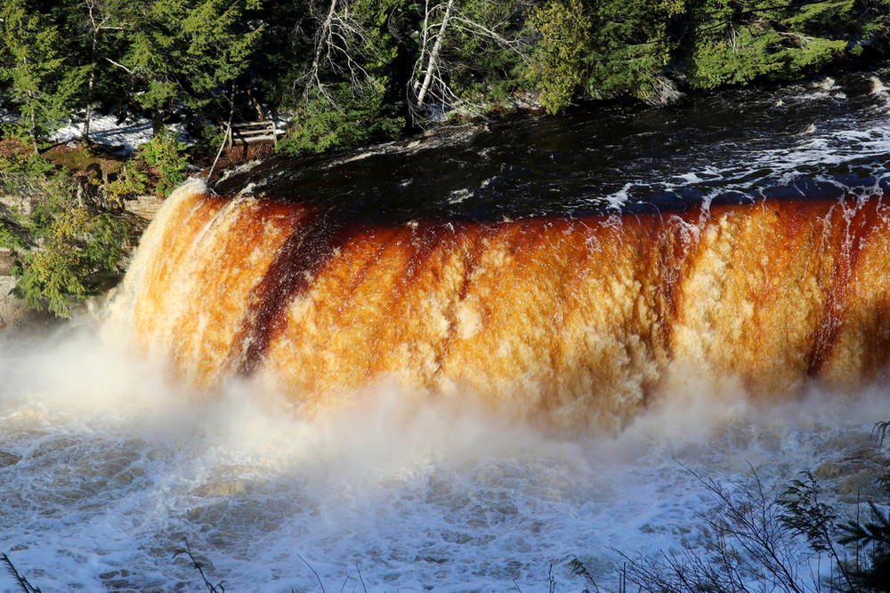 Upper Tahquamenon Falls at Sunrise IV