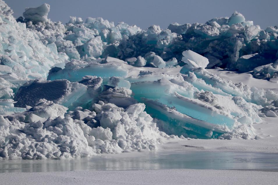 Lake Superior Blue Ice