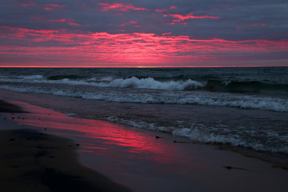 Sunset over Superior