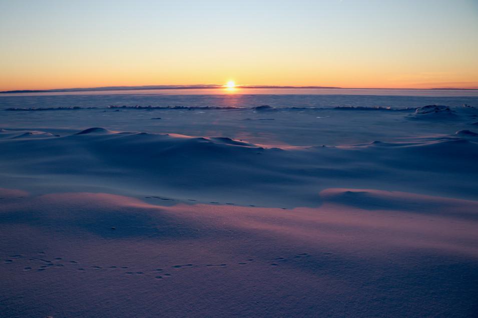 February Sunrise II - Lake Superior