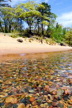 Spring on the shores of Lake Superior
