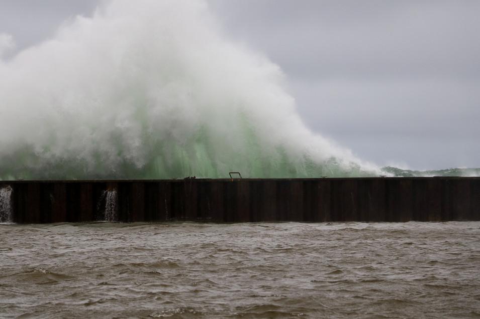 Lake Superior Mega Wave