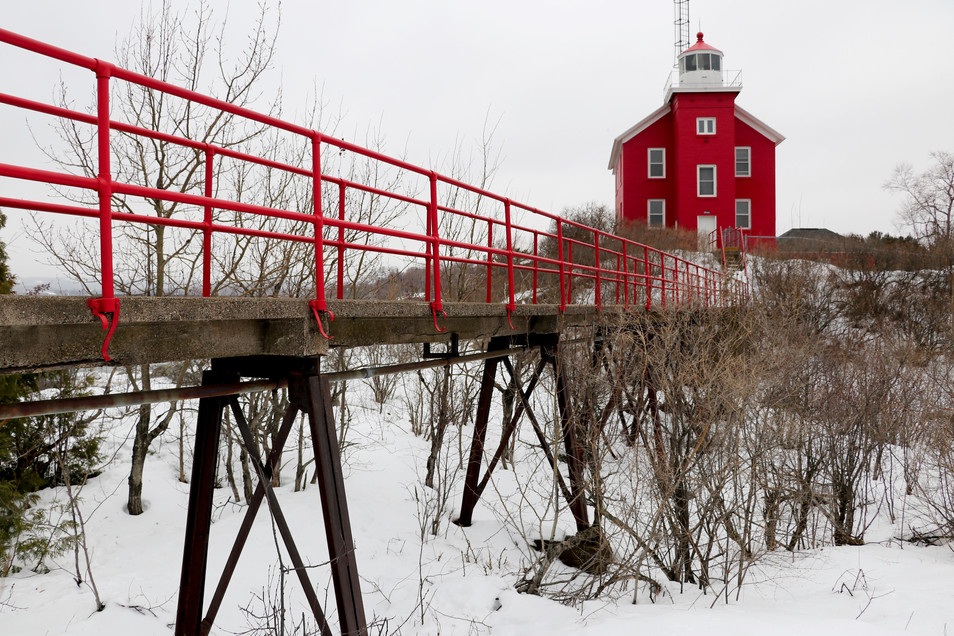 Marquette Harbor Lighthouse - Lake Superior