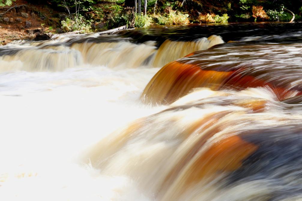Autumn at Lower Tahquamenon Falls