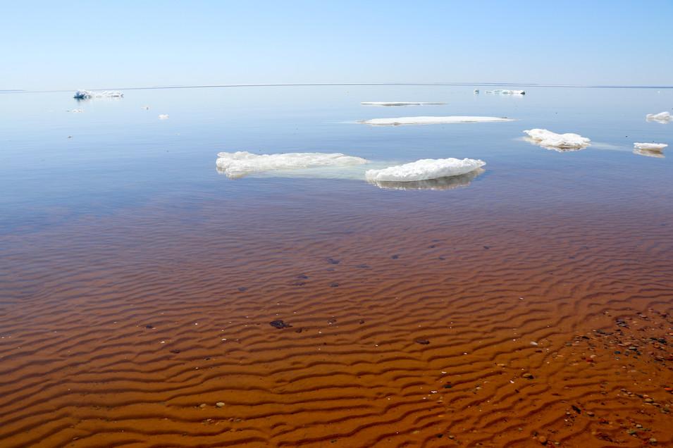 Spring on Lake Superior's Whitefish Bay