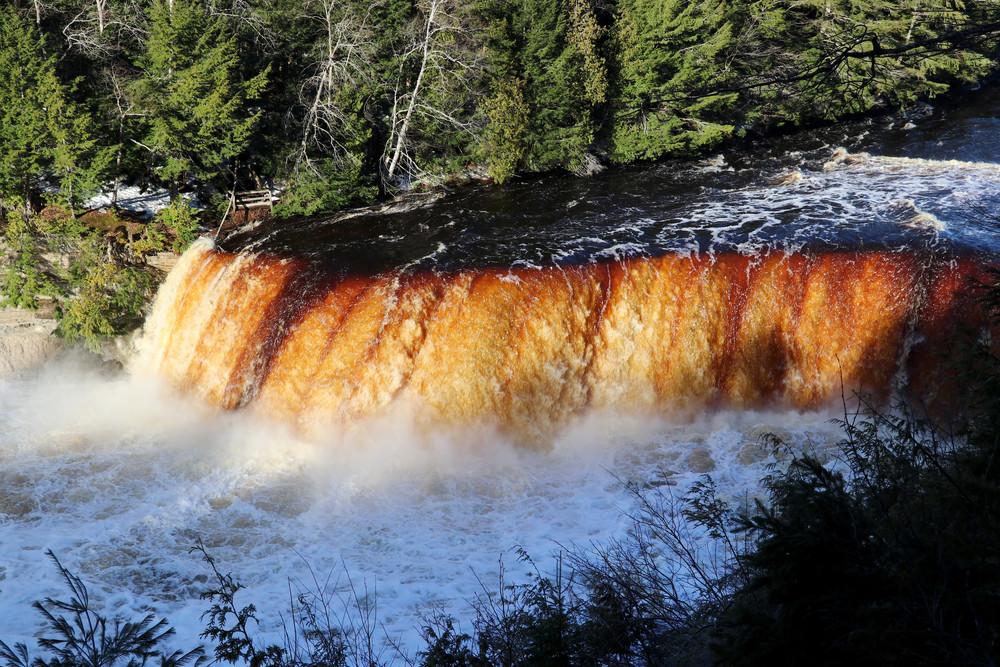 Upper Tahquamenon Falls at Sunrise VI