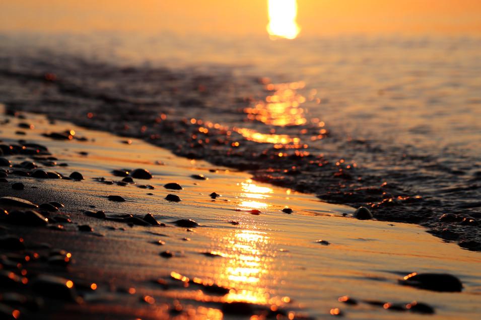 Sunrise Reflections over Lake Superior