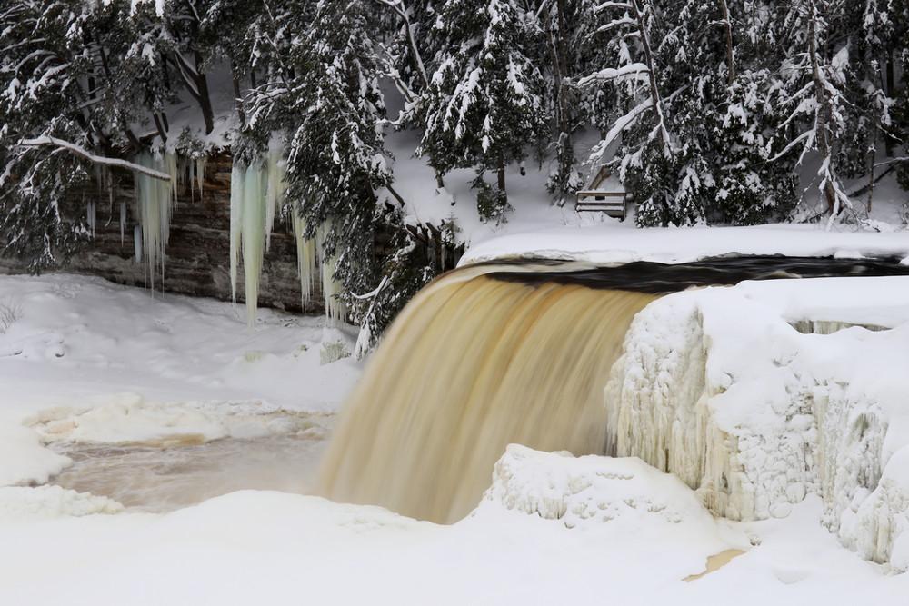 Upper Tahquamenon Falls - February