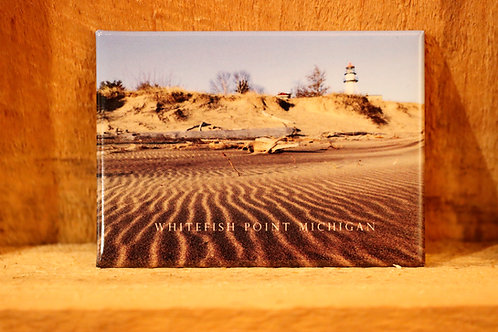 Whitefish Point Lighthouse Magnet