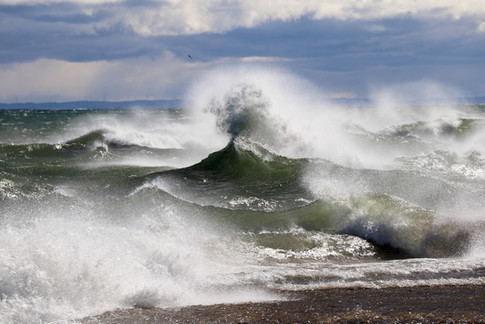 Whitefish Point Waves