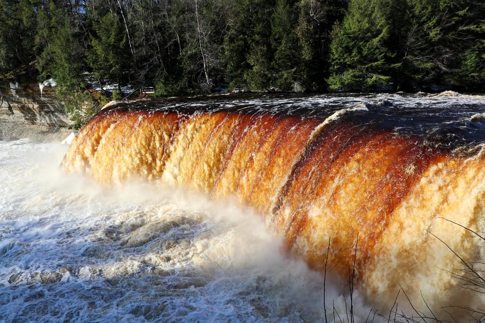 Upper Tahquamenon Falls at Sunrise II