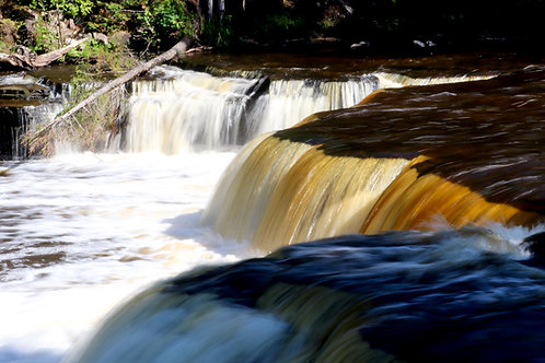 Blank Card with Envelope - Lower Tahquamenon Falls