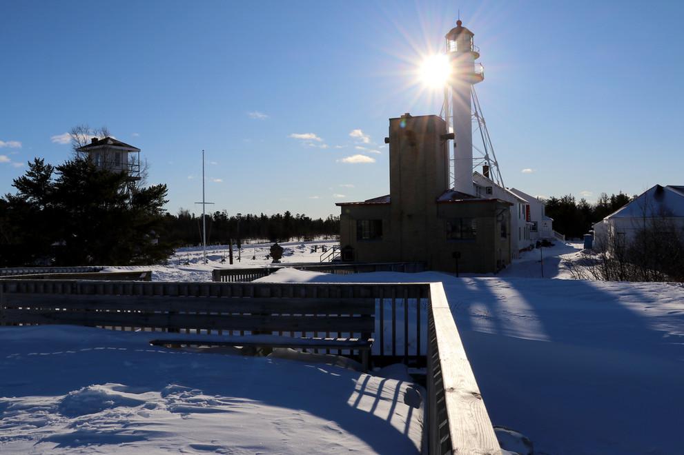 Whitefish Point Lighthouse - January