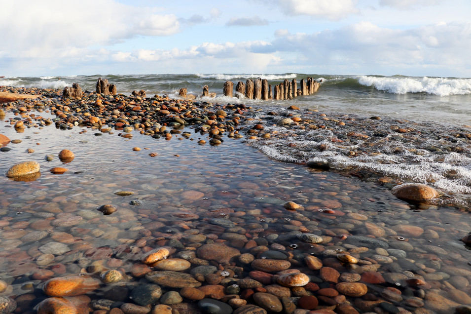 The Pilings at Whitefish Point