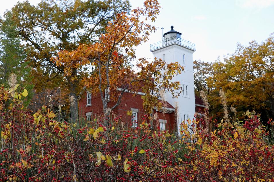 40 Mile Point Lighthouse - Lake Huron