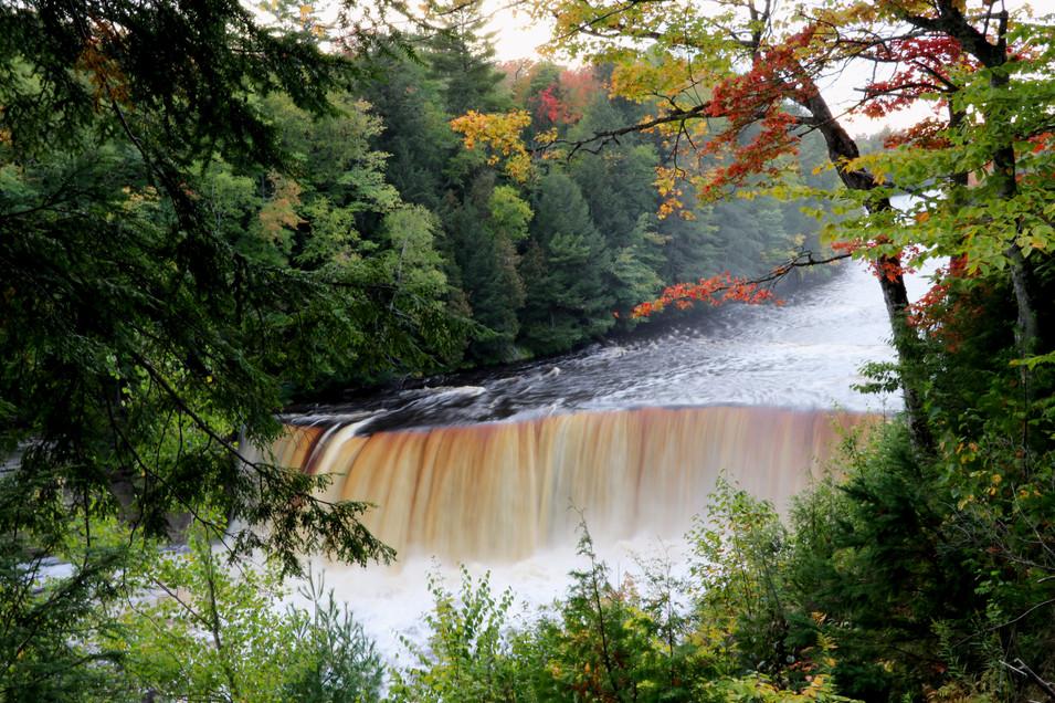 Upper Tahquamenon Falls - Early Autumn
