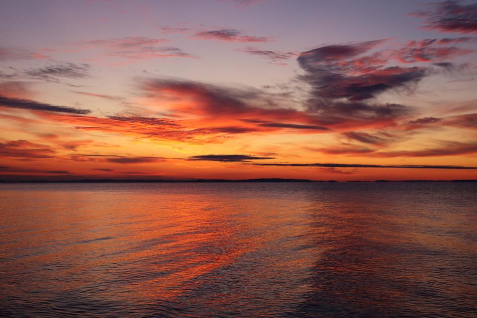 Before Sunrise over Lake Superior
