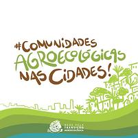 Logo projeto Comunidades Agroecologicas.
