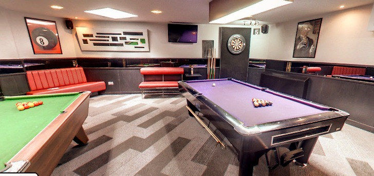 BOOK THE ROOM FOR YOU AND YOUR FRIENDS AND GET YOUR OWN SPACE, TABLES, DART BOARDS AND TVS