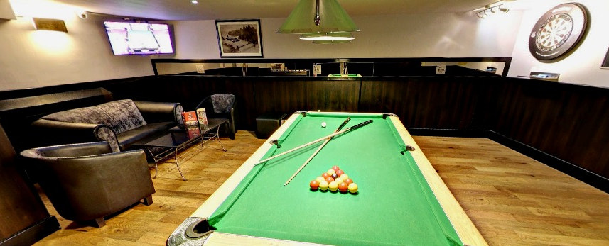 BOOK YOUR TABLE AND AREA TO ENJOY YOUR FAVOURITE MATCH AND GAME AT THE SAME TIME
