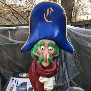 Captain Crook Statue - After