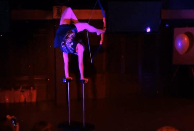 Handstand & Foot Archery Act