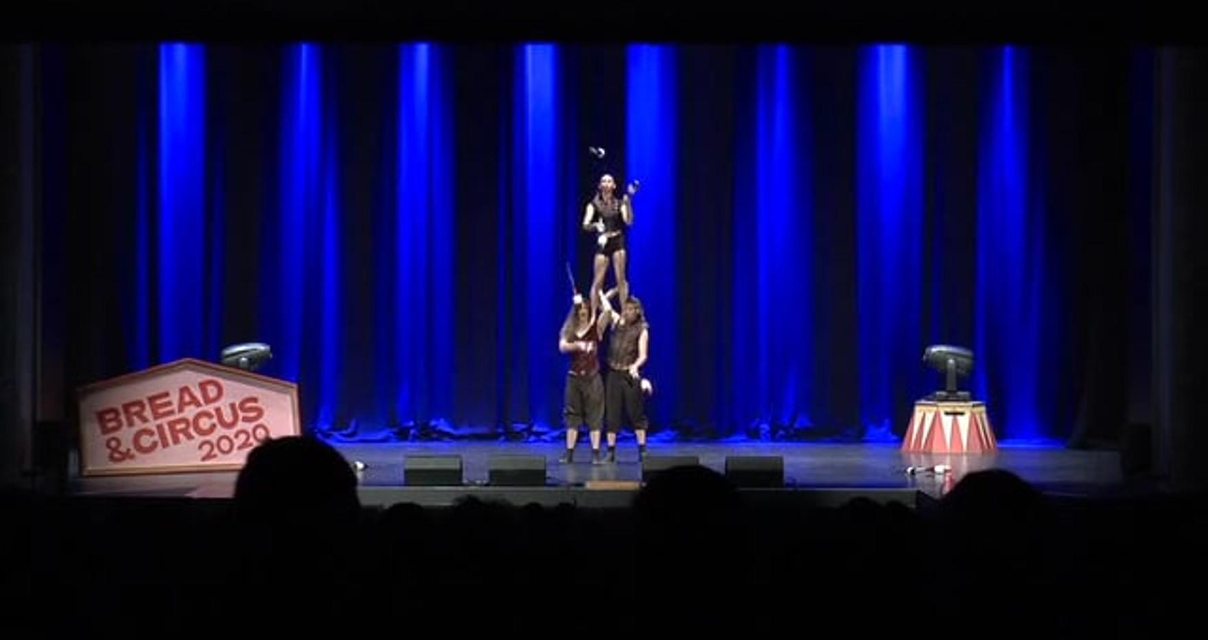 Trio Juggling Act