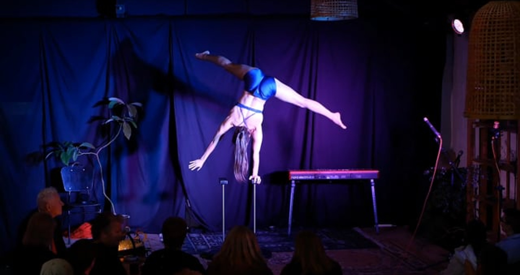 Handstand Contortion Act