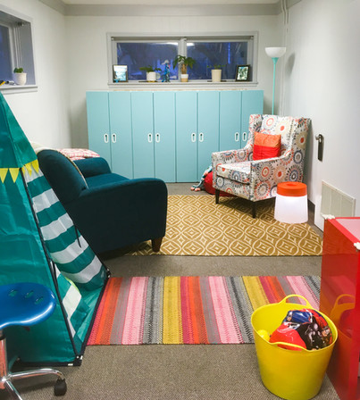 Play therapy room (A Balanced Life LLC)