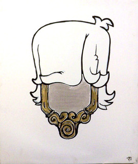 Perruque Mirroir