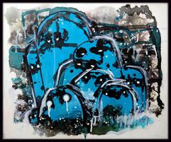 Bêtes de cauchemard Abstrait