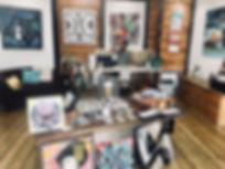 Exposition 2018 Galerie Katel le Jeune