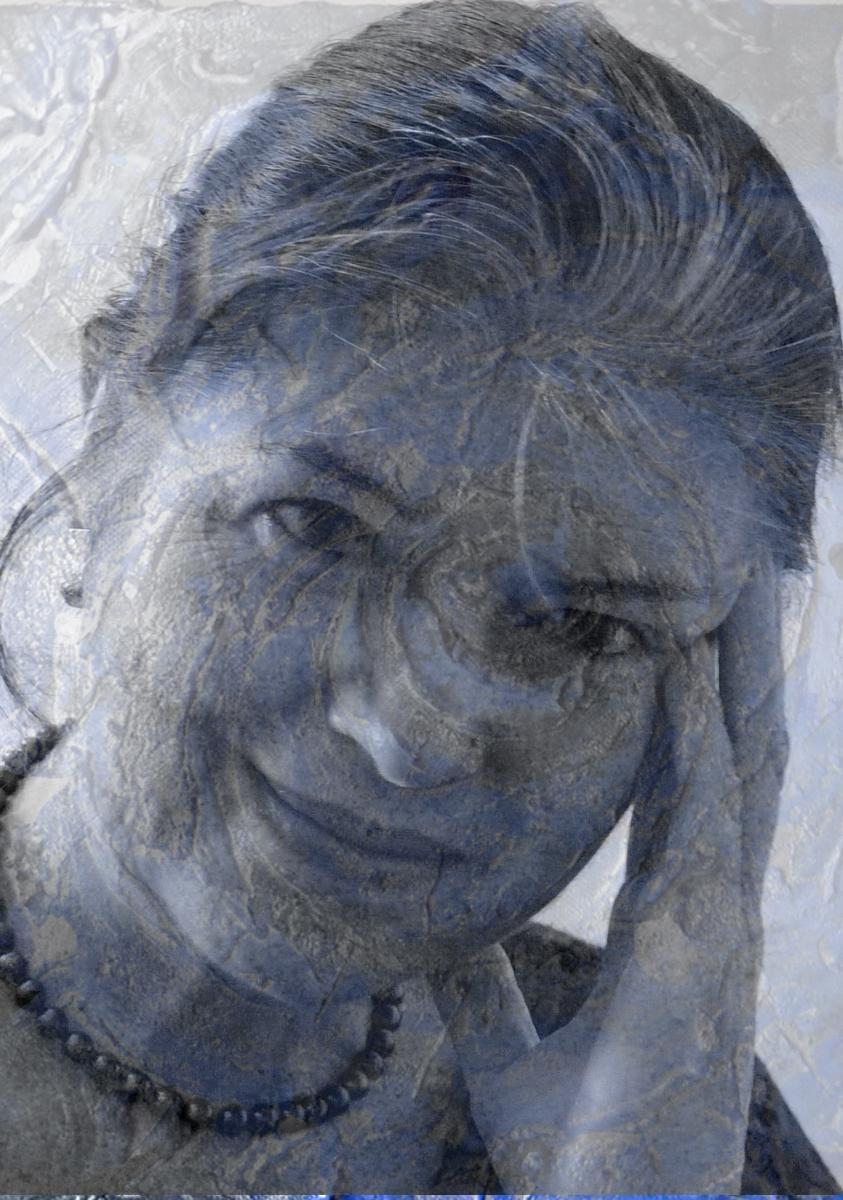 mariella bogliacino - ritratto - senza titolo - 2016
