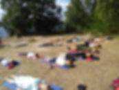 Yoga Bergwitzsee