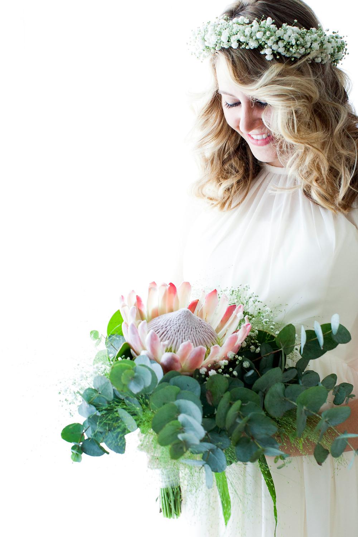 A Beautiful Bouquet for a Beautiful Bride