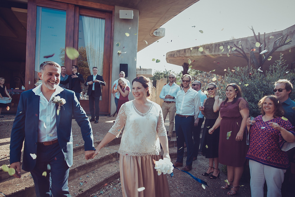 Elsa and Paul | Forum Homini Wedding | Confetti Toss