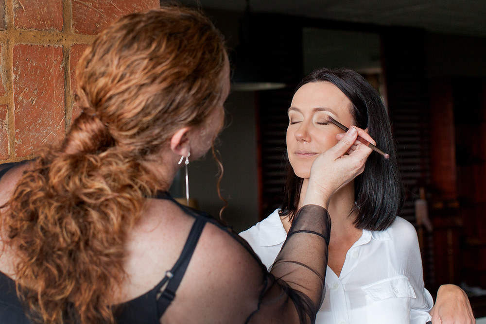 Be pampered with professional hair and makeup