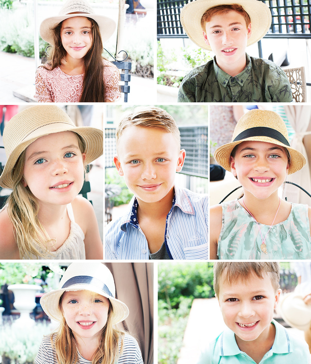 Ryan's birthday celebrations 4 children's portraits