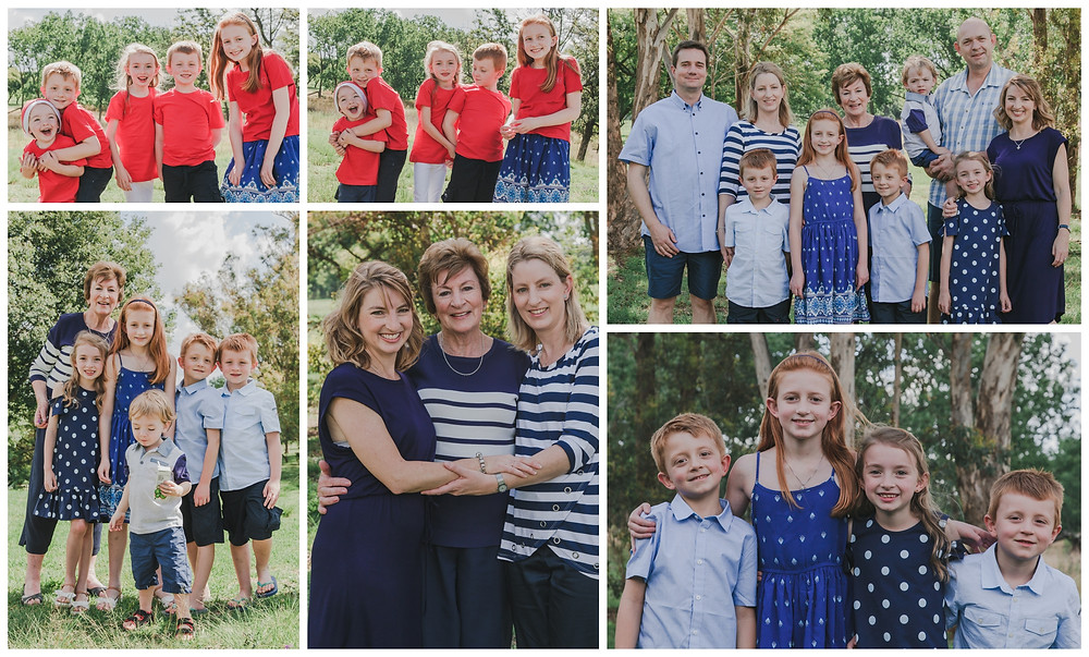 Bev and Family Portrait Session