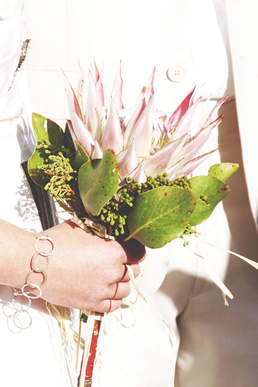 Wedding Bouquet - Proteas