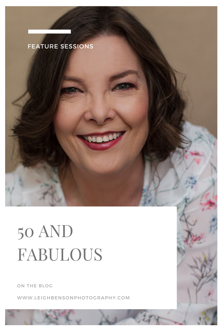 Cover Image - 50 and fabulous portrait photography